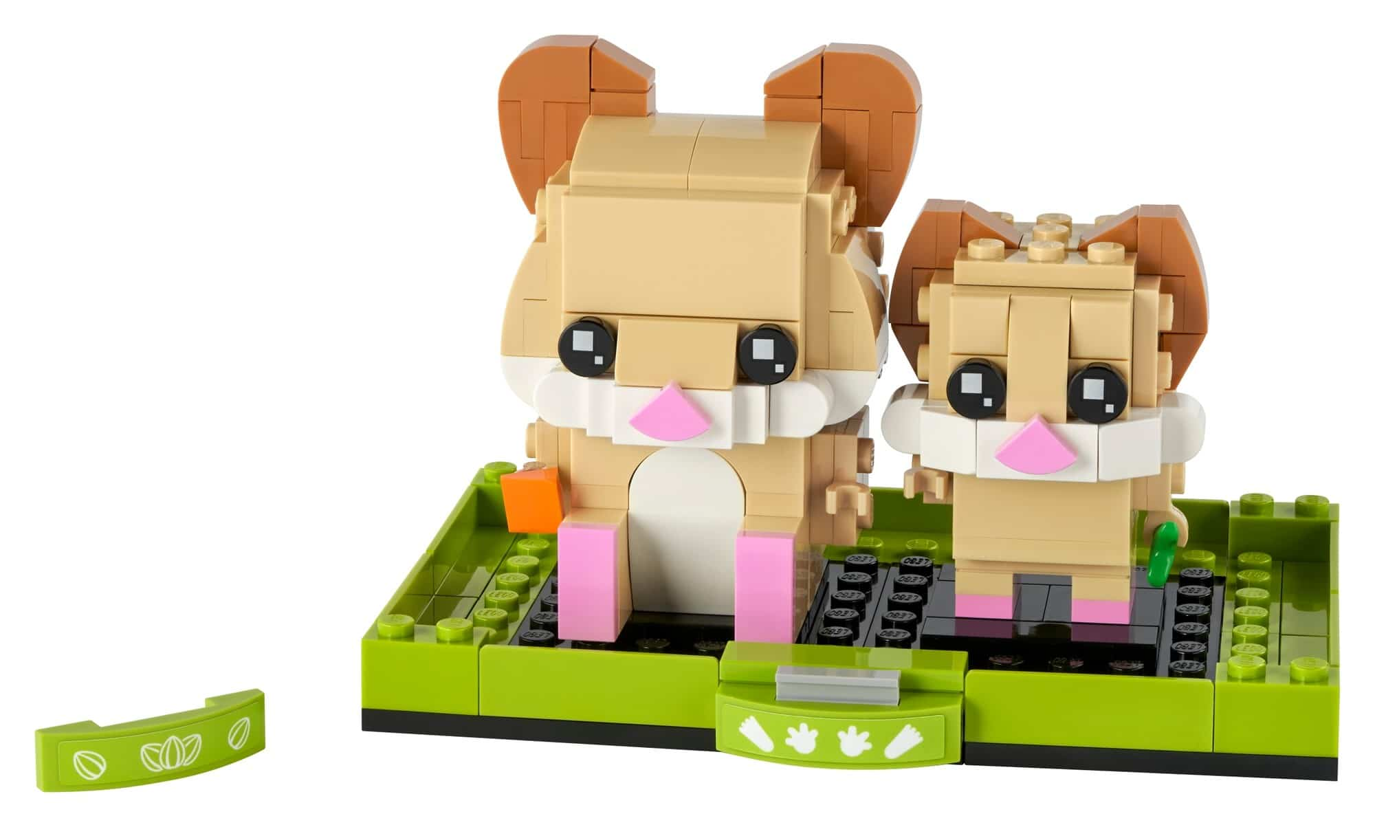 LEGO Brickheadz 40482 Hamster 1