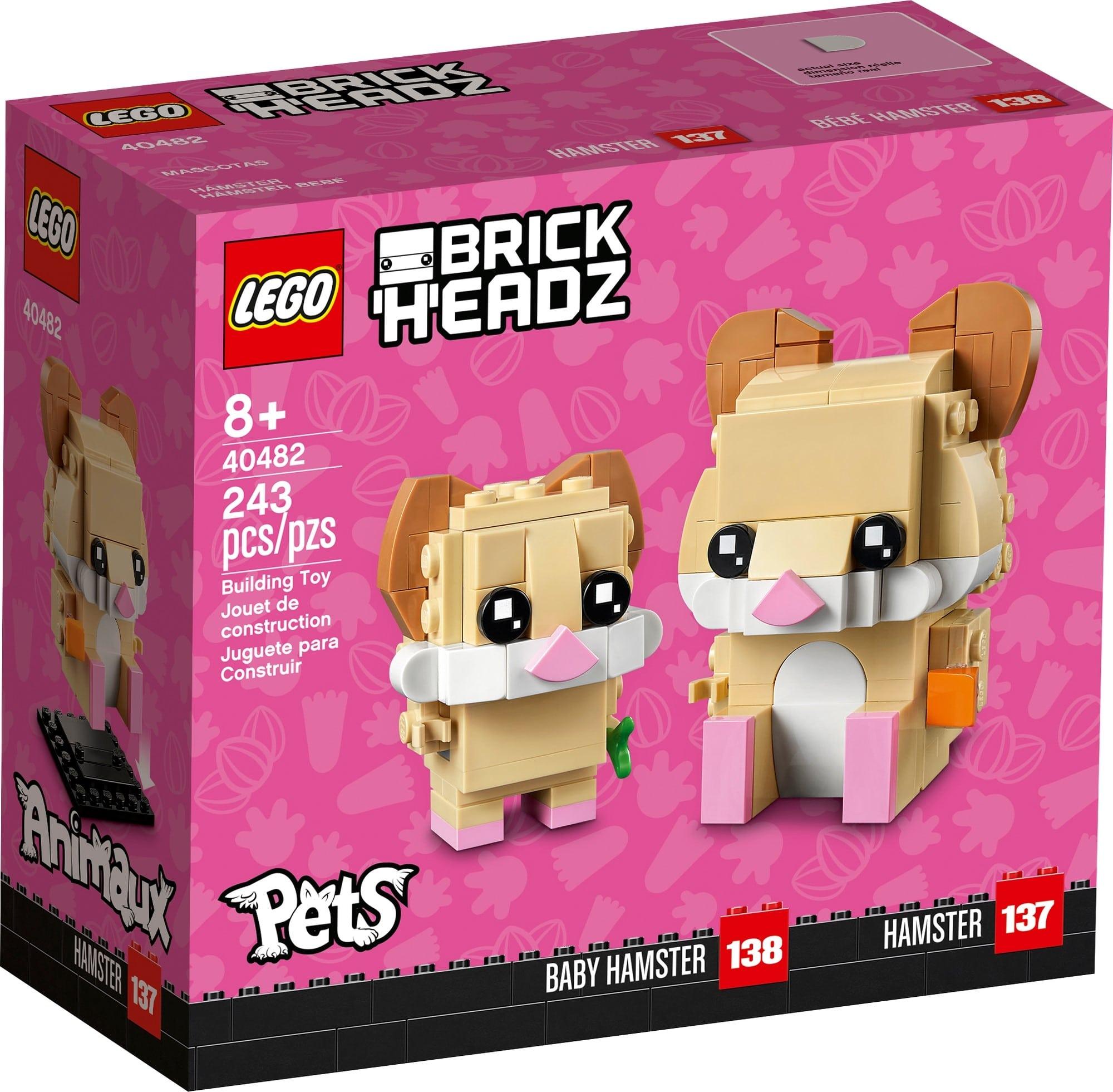 LEGO Brickheadz 40482 Hamster 2