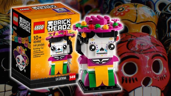 LEGO Brickheadz 40492 La Catrina Titel 2