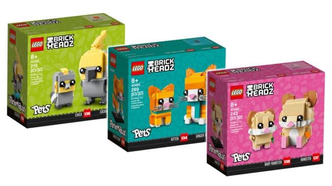 LEGO Brickheadz August 2021 Titel