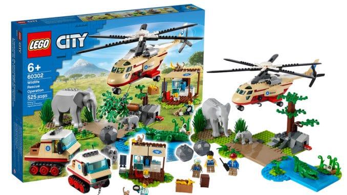 LEGO City 60302 Tierrettungs Einsatz