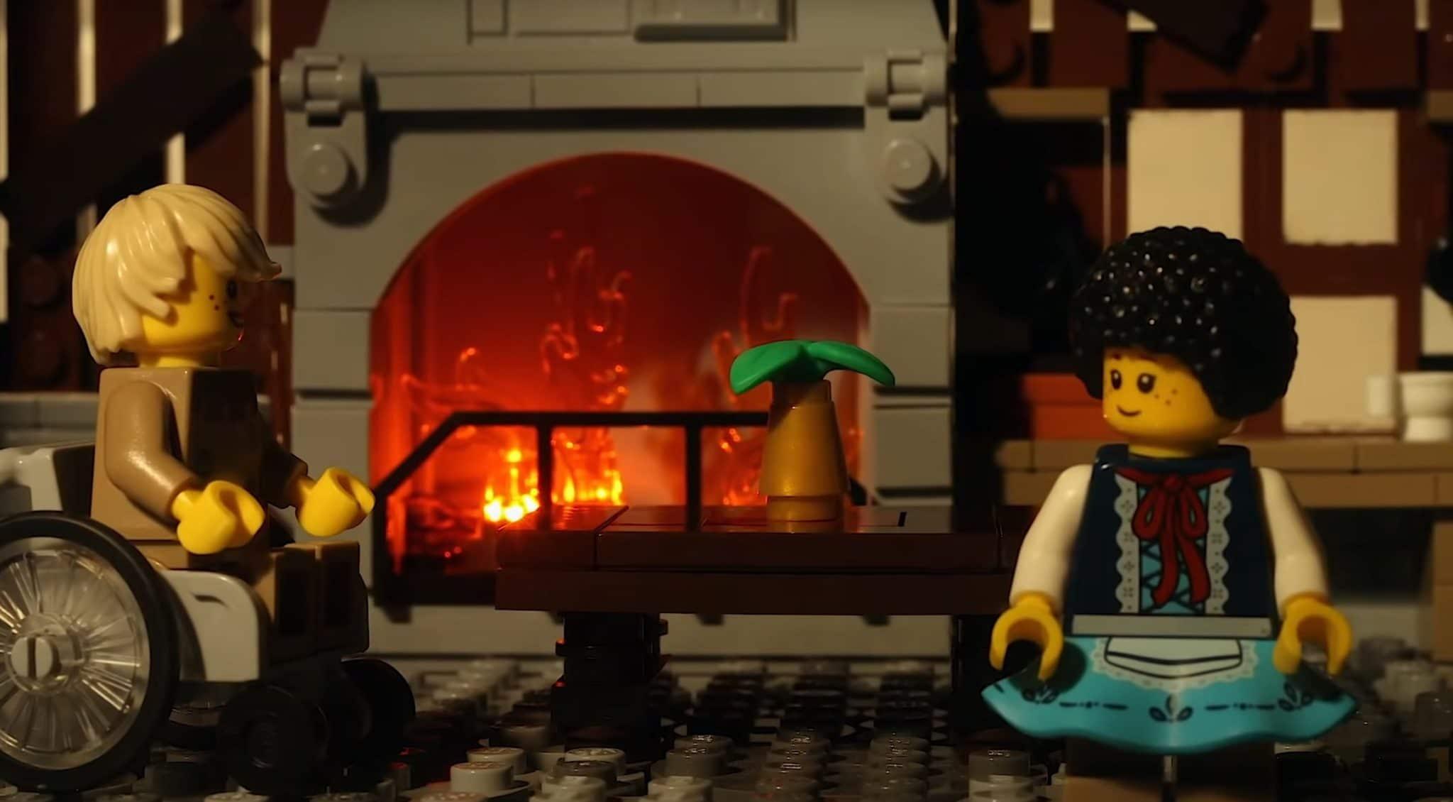 LEGO Haensel Und Gretel Haus02