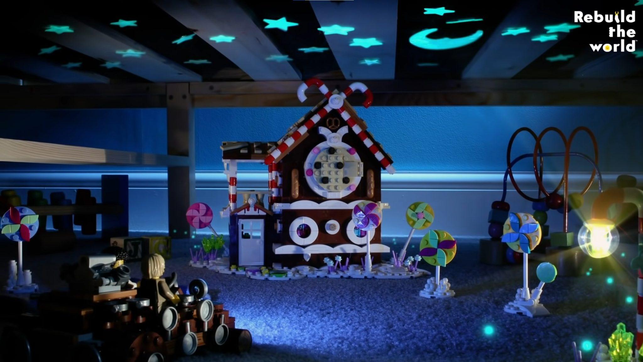 LEGO Haensel Und Gretel Lebkuchen Haus 01