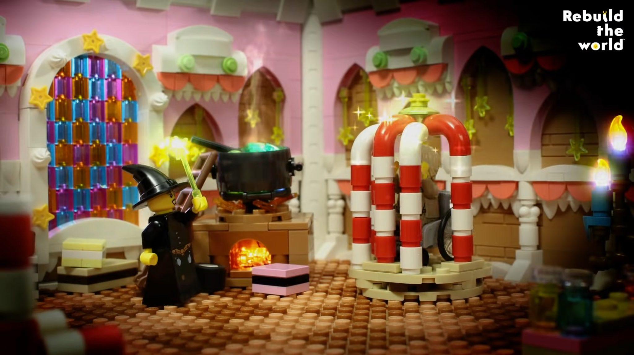 LEGO Haensel Und Gretel Lebkuchen Haus 02
