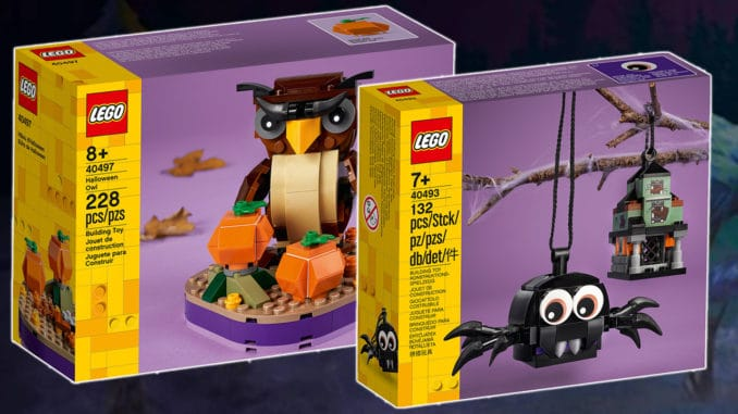 LEGO Halloween 2021 Sets