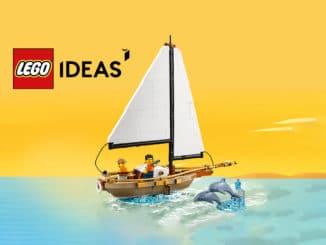 LEGO Ideas 40487 Segelboot Abenteuer