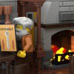 LEGO Ideas Johns Medieal Watermil (10)