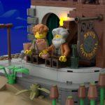 LEGO Ideas Johns Medieal Watermil (12)