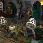 LEGO Ideas Johns Medieal Watermil (13)