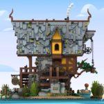LEGO Ideas Johns Medieal Watermil (2)