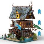 LEGO Ideas Johns Medieal Watermil (3)