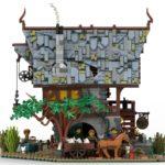 LEGO Ideas Johns Medieal Watermil (4)