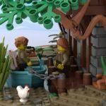 LEGO Ideas Johns Medieal Watermil (5)