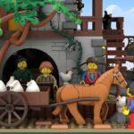 LEGO Ideas Johns Medieal Watermil (6)