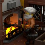 LEGO Ideas Johns Medieal Watermil (9)