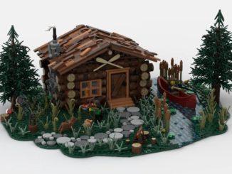 LEGO Ideas Log Cabin (1)