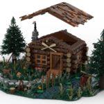 LEGO Ideas Log Cabin (10)