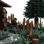LEGO Ideas Log Cabin (8)