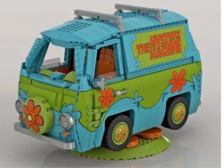 LEGO Ideas Scooby Doo Mystery Machine (1) 1