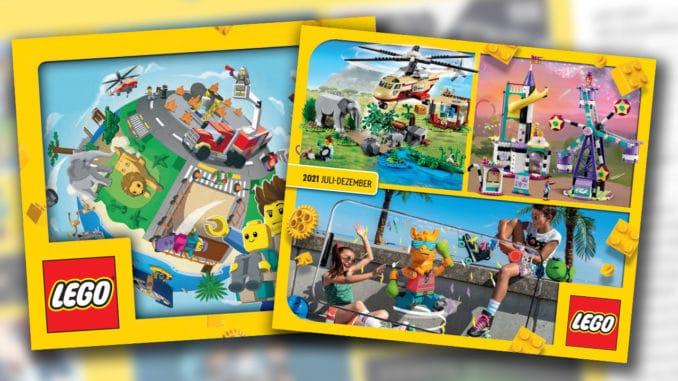 LEGO Katalog 2 Halbjahr 2021