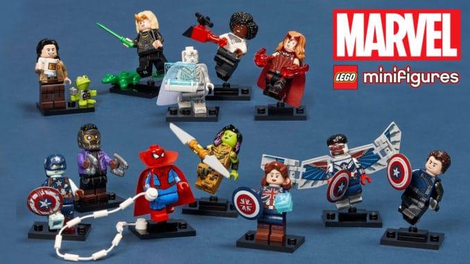 LEGO Marvel 71031 Minifiguren Serie Titelbild