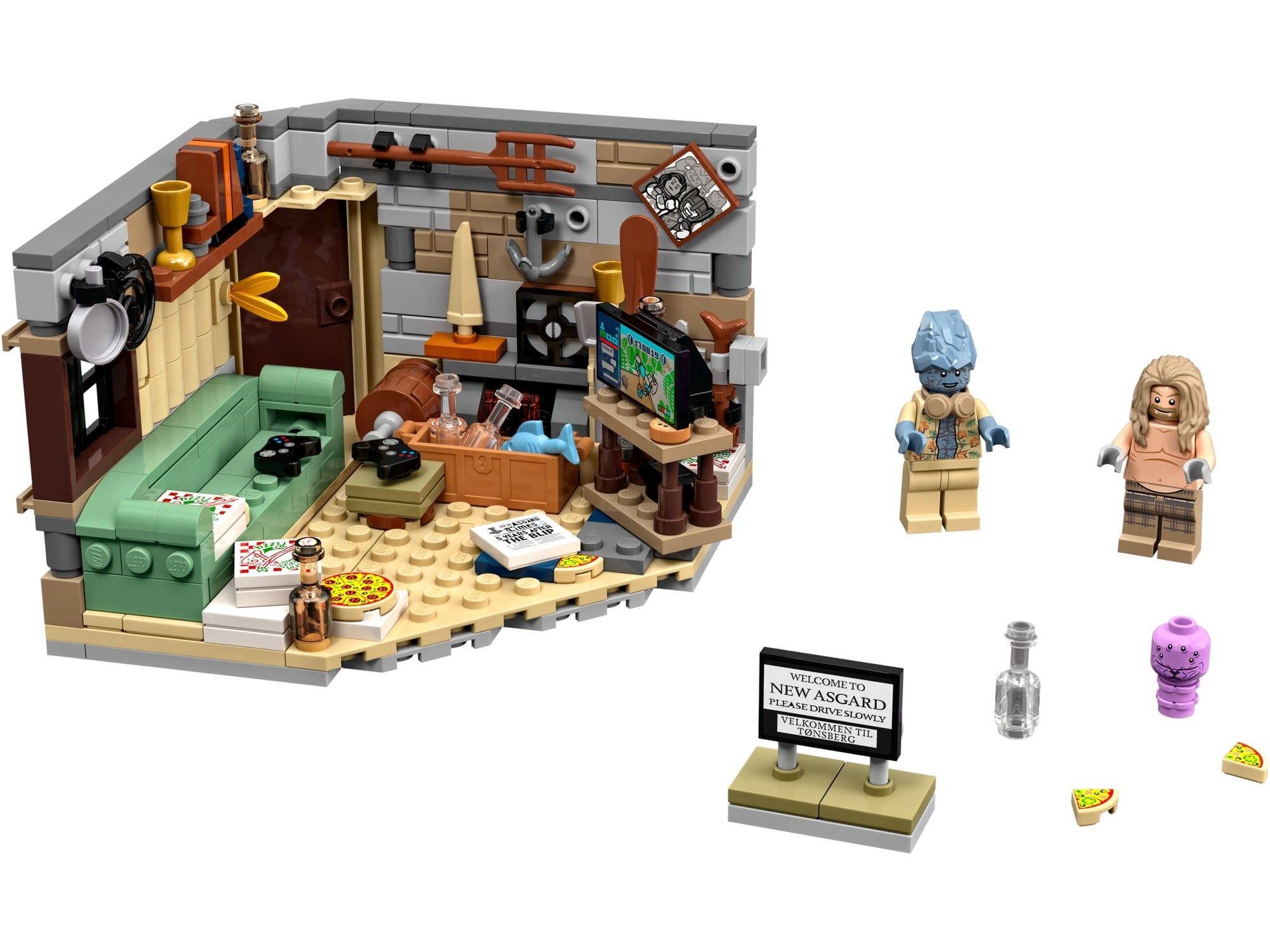 LEGO Marvel 76200 Bro Thor's New Asgard 1