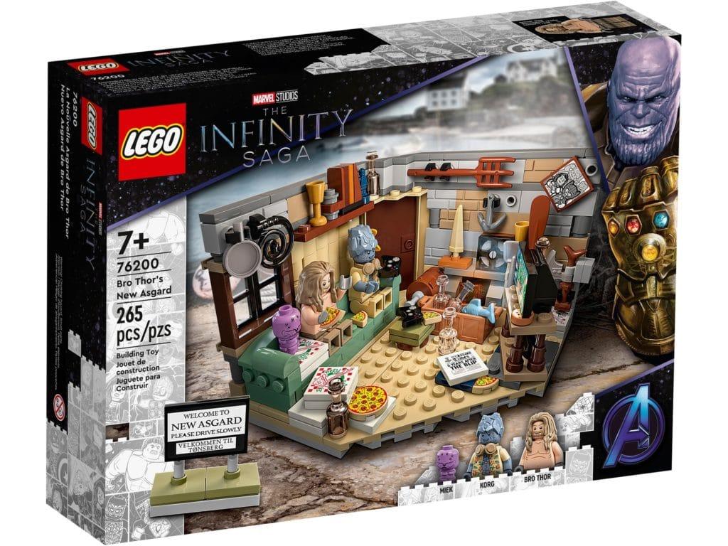 LEGO Marvel 76200 Bro Thor's New Asgard 2