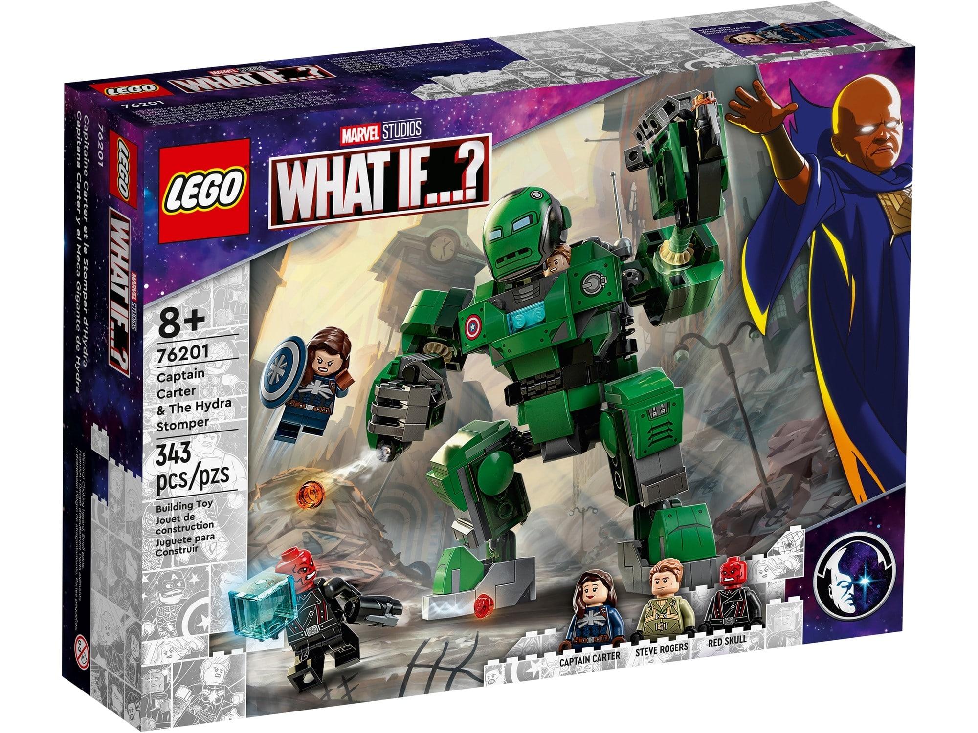 LEGO Marvel 76201 Captain Carter & The Hydra Stomper 1