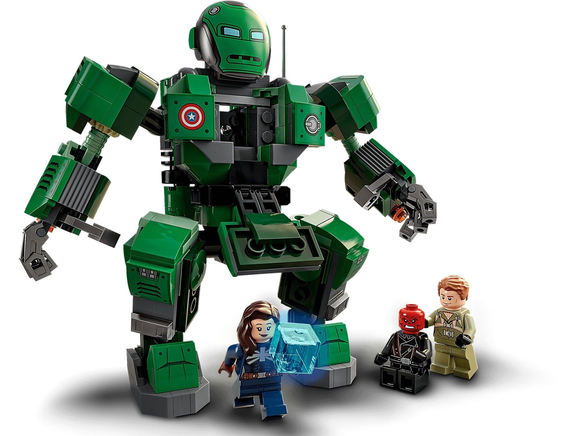 LEGO Marvel 76201 Captain Carter & The Hydra Stomper 3