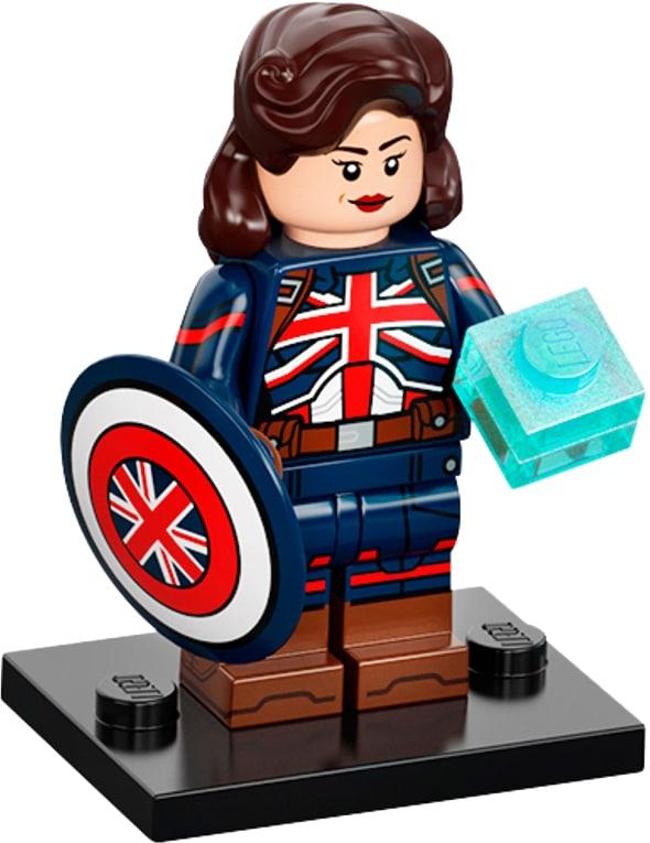 LEGO Marvel Minifigures 71031 Captain Britain