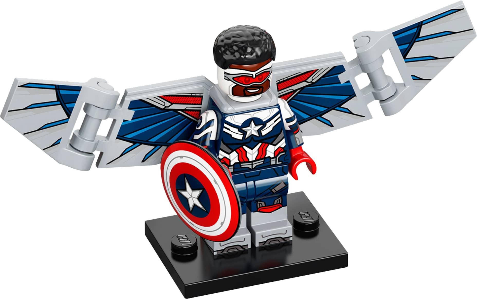 LEGO Marvel Minifigures 71031 Falcon Captain America