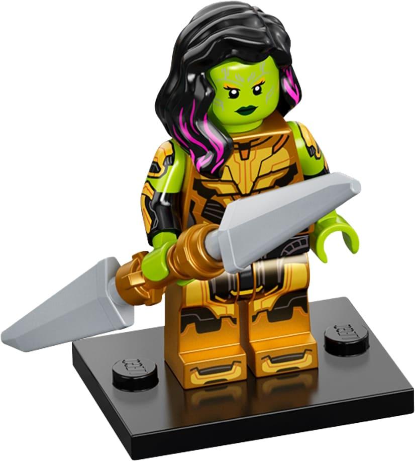 LEGO Marvel Minifigures 71031 Gamora Thanos