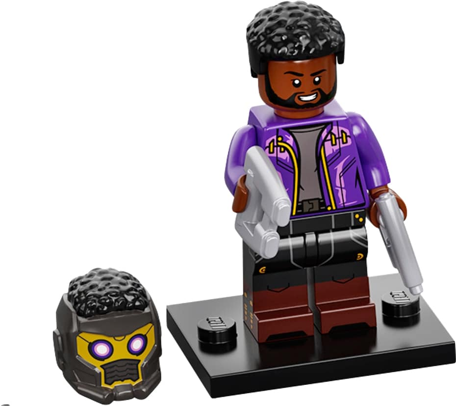 LEGO Marvel Minifigures 71031 Star Lort T Challa