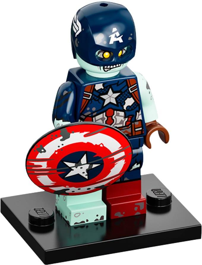 LEGO Marvel Minifigures 71031 Zombie Captain America