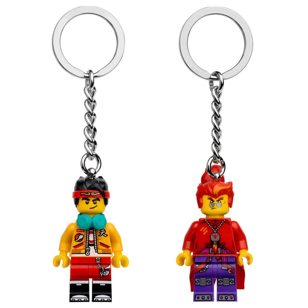 LEGO Monkie Kid Schluesselanhaenger 854086 854085