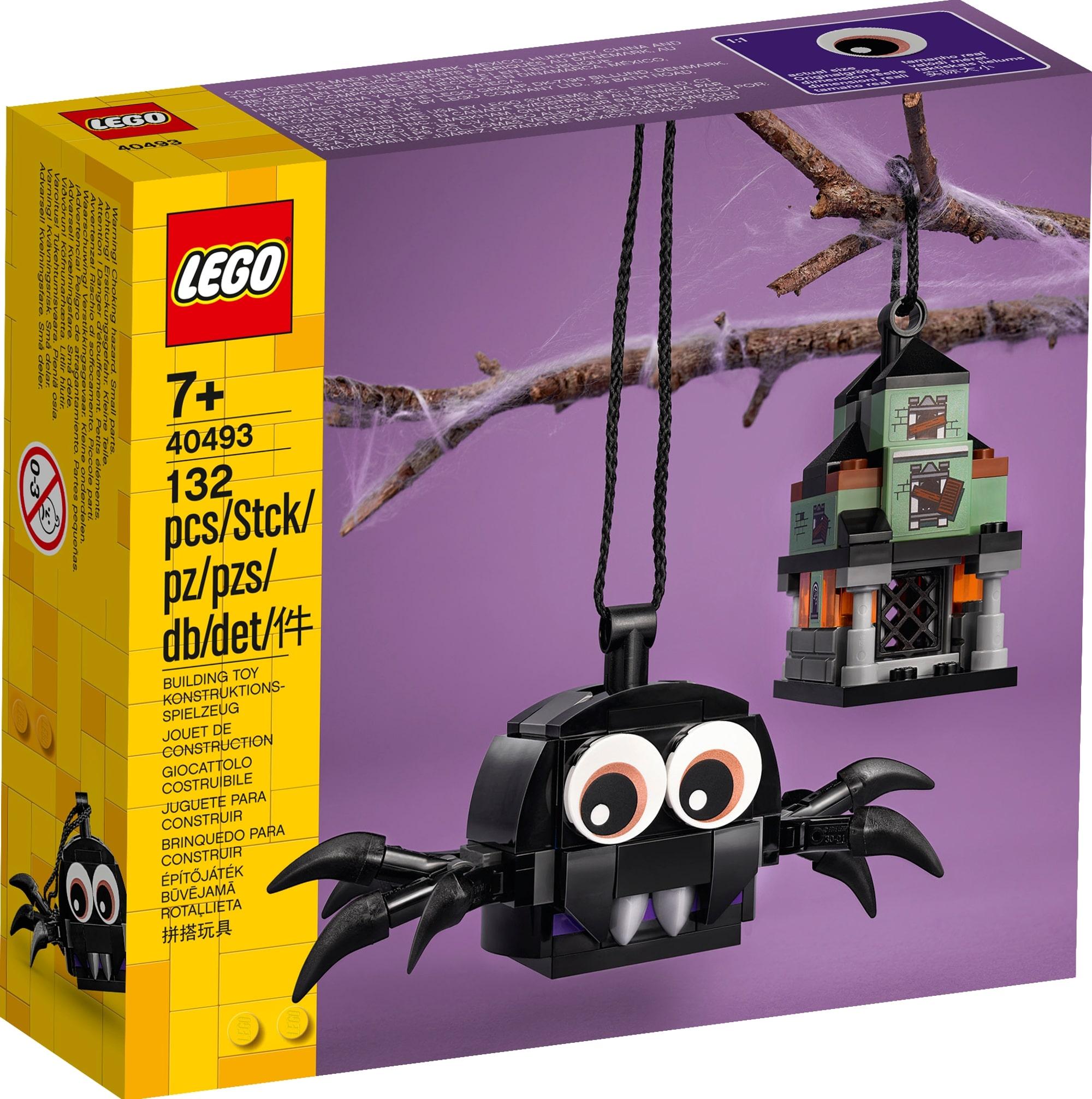 LEGO Seasonal 40493 Spinne Und Geisterhaus 2