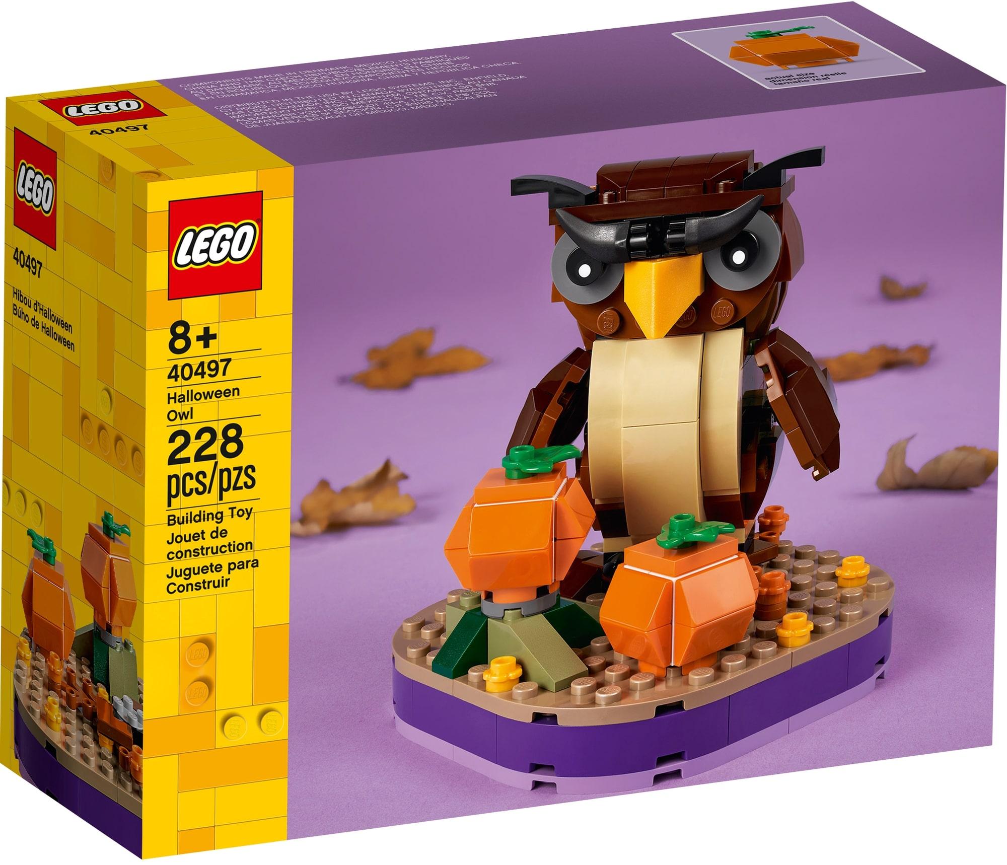 LEGO Seasonal 40497 Halloween Eule 2