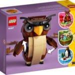 LEGO Seasonal 40497 Halloween Eule 3