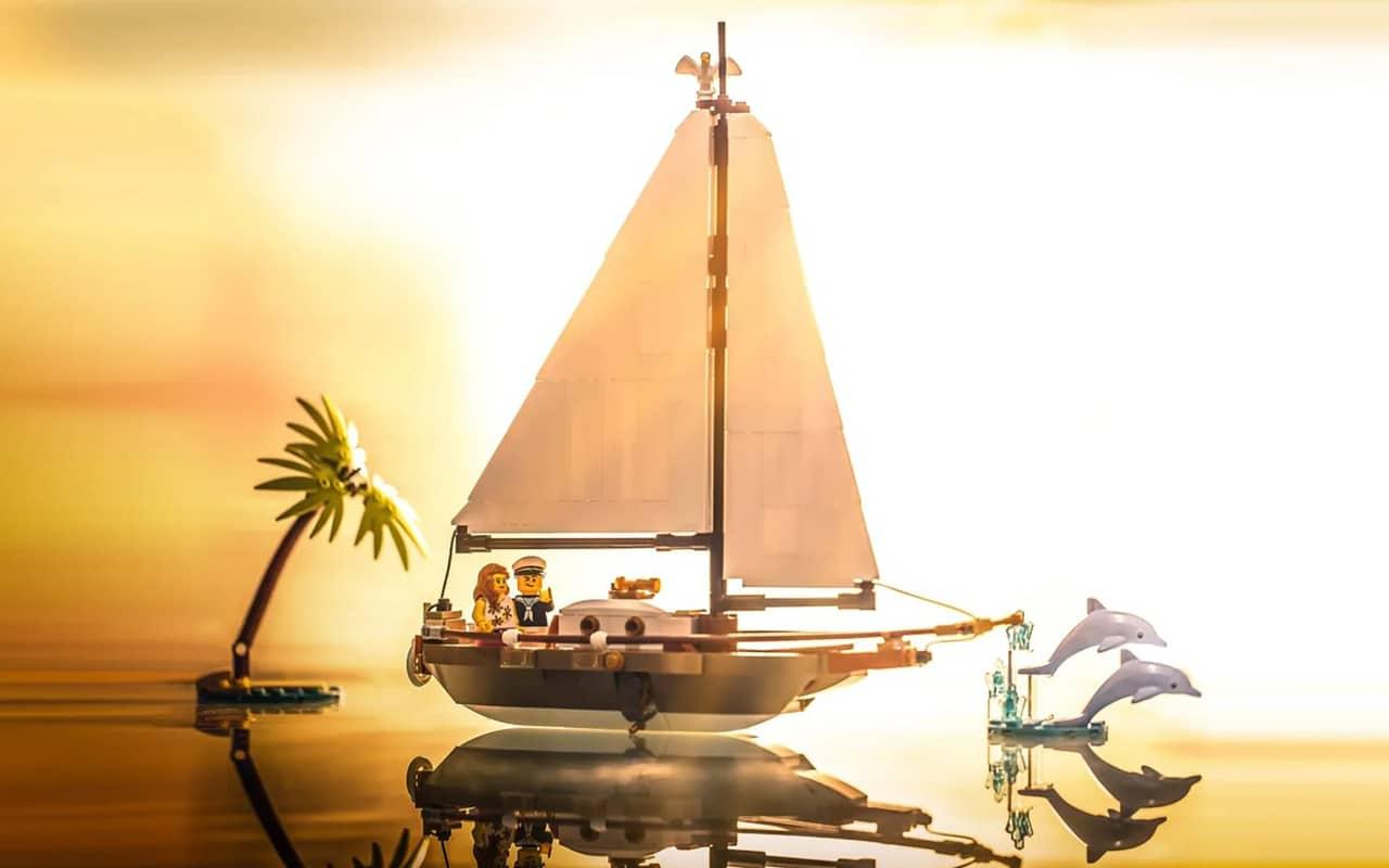 LEGO Segelboot Slider 2