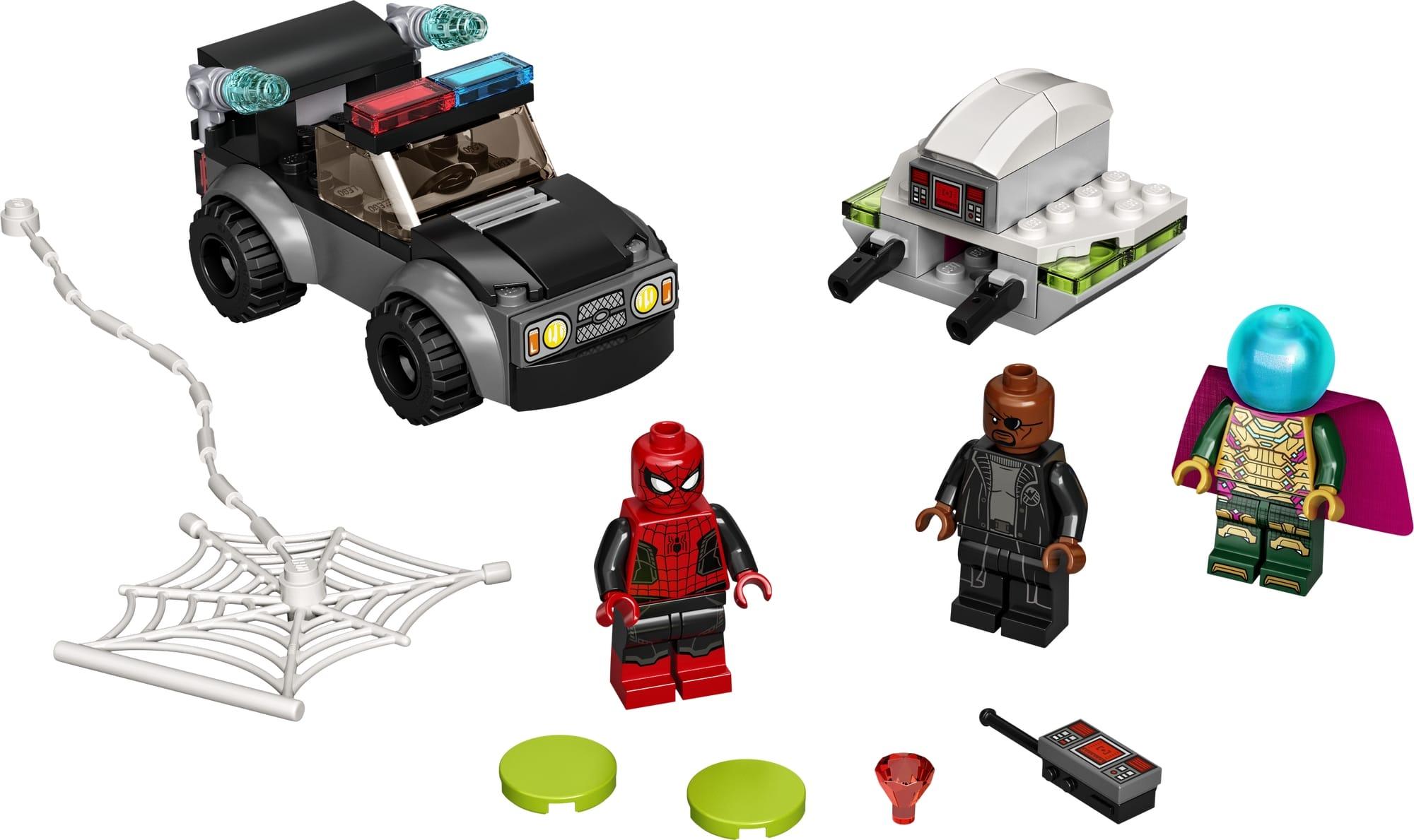 LEGO Spider Man 76184 Mysterios Drohnenattacke Auf Spider Man 1