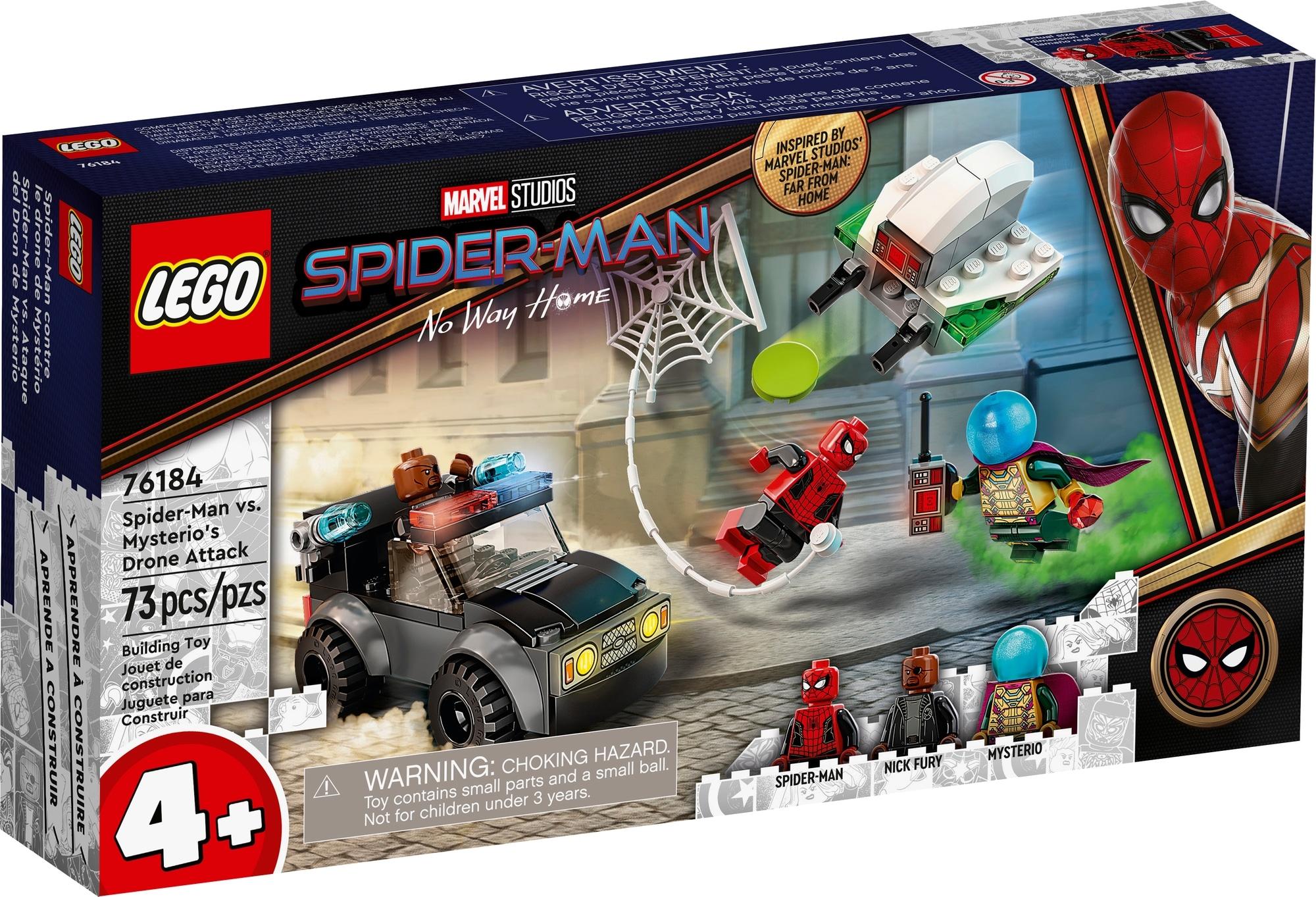 LEGO Spider Man 76184 Mysterios Drohnenattacke Auf Spider Man 2
