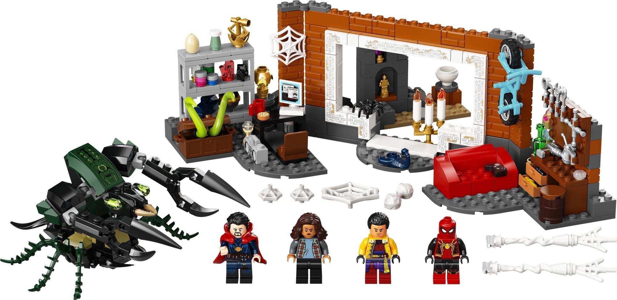 LEGO Spider Man 76185 Spider Man In Der Sanctum Werkstatt 1