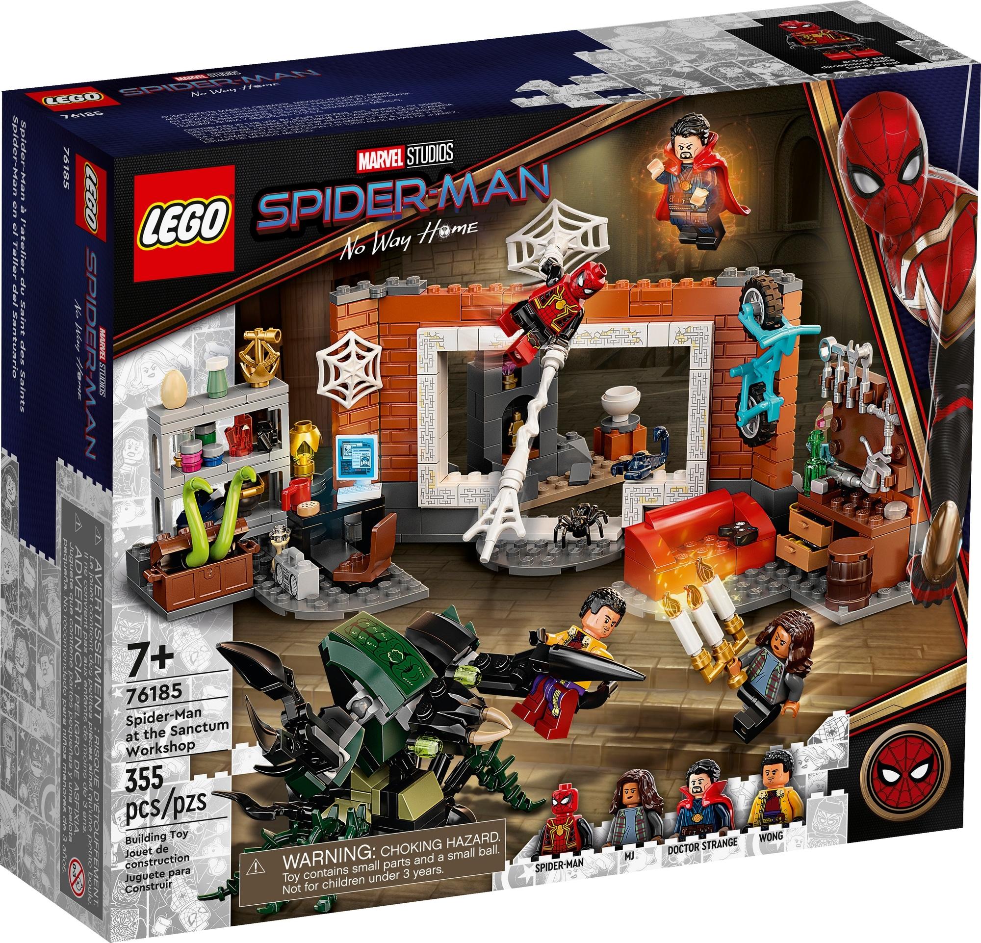 LEGO Spider Man 76185 Spider Man In Der Sanctum Werkstatt 2