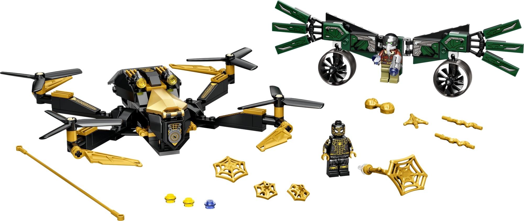 LEGO Spider Man 76195 Spider Mans Drohnenduell 1