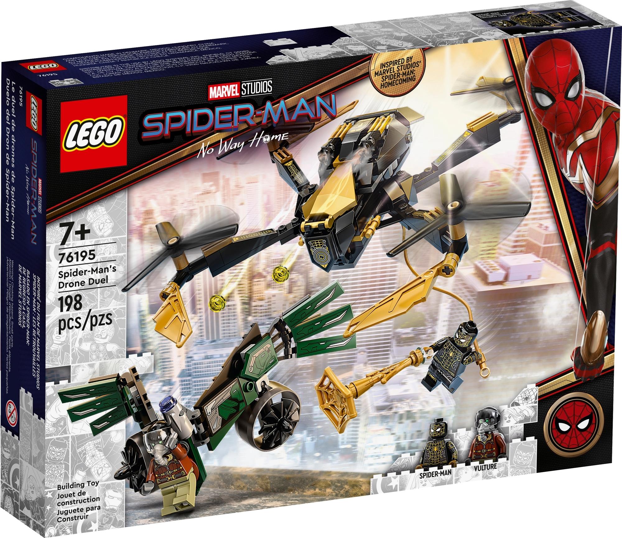 LEGO Spider Man 76195 Spider Mans Drohnenduell 2