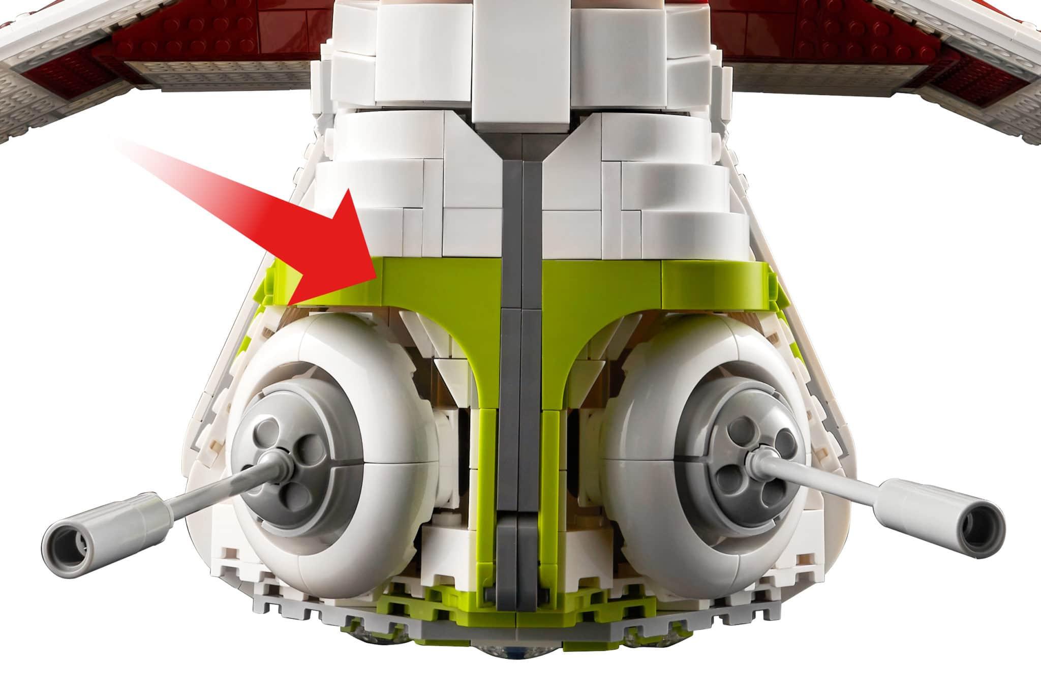LEGO Star Wars 75309 Gunship Neue Teile05