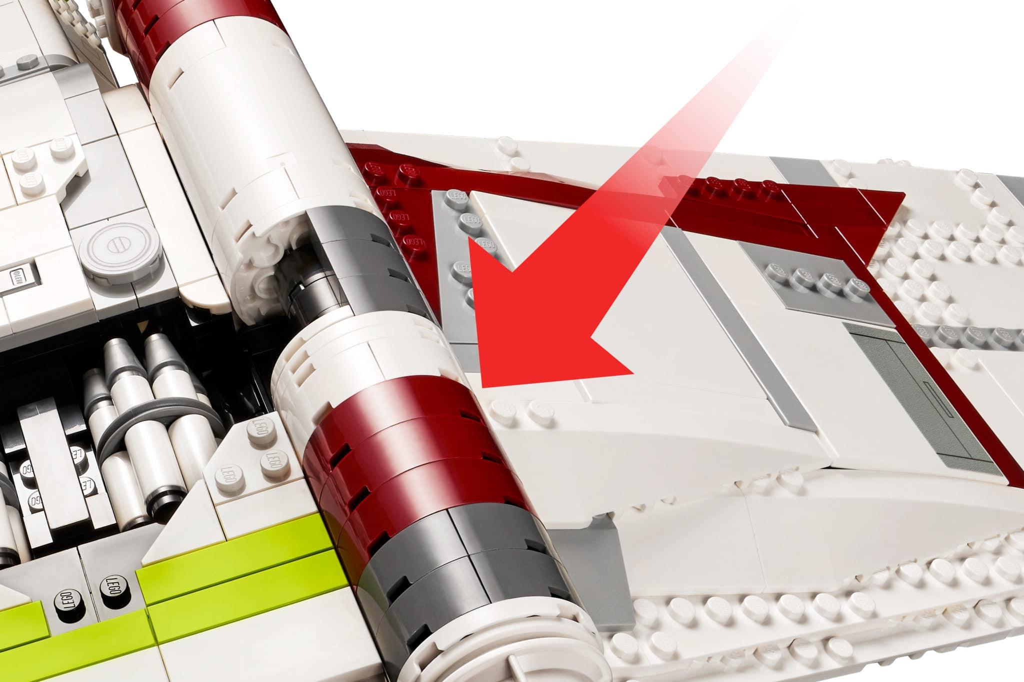 LEGO Star Wars 75309 Gunship Neue Teile06