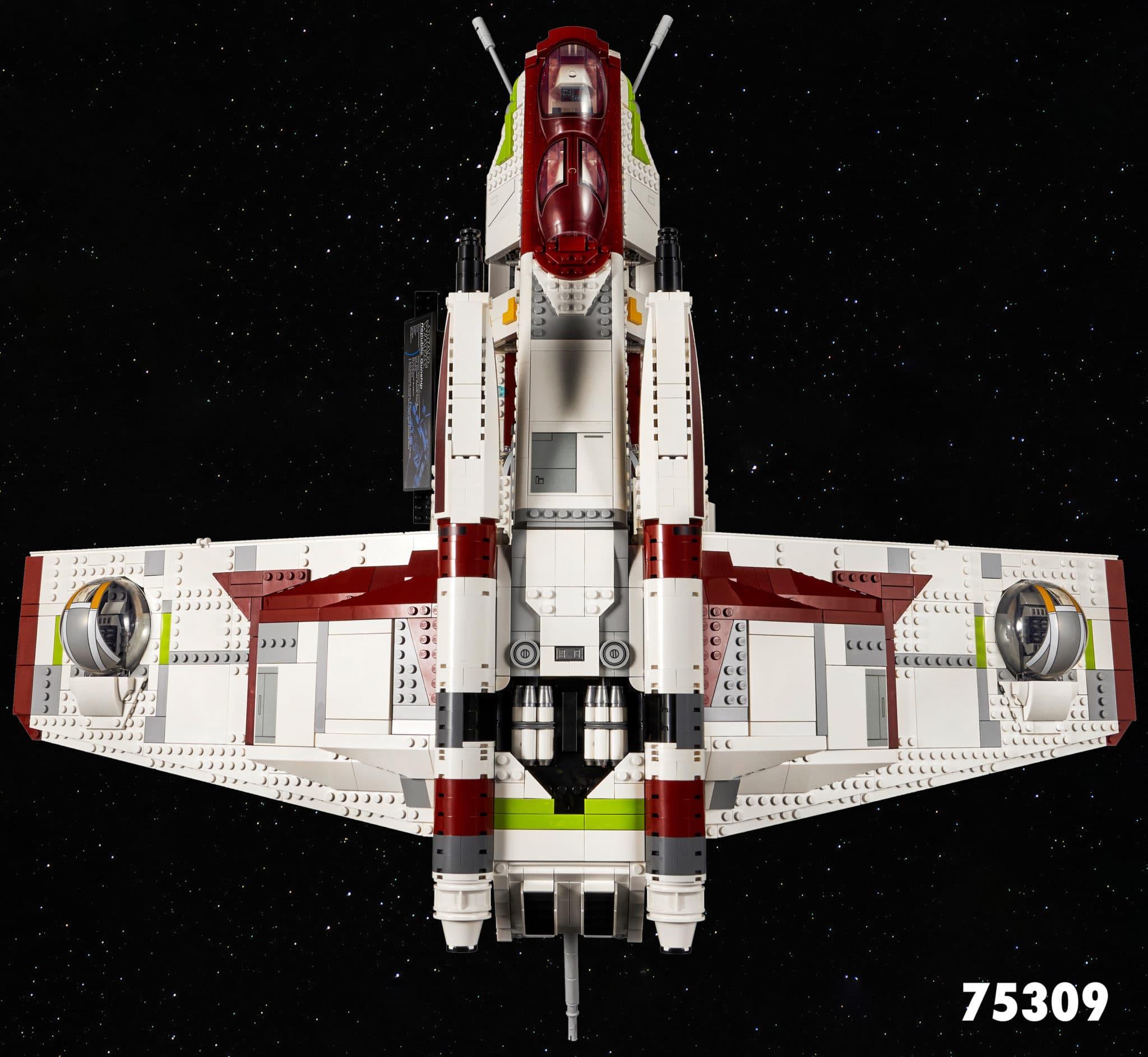 LEGO Star Wars 75309 Republic Gunship Slider