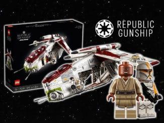 LEGO Star Wars 75309 Ucs Republic Gunship