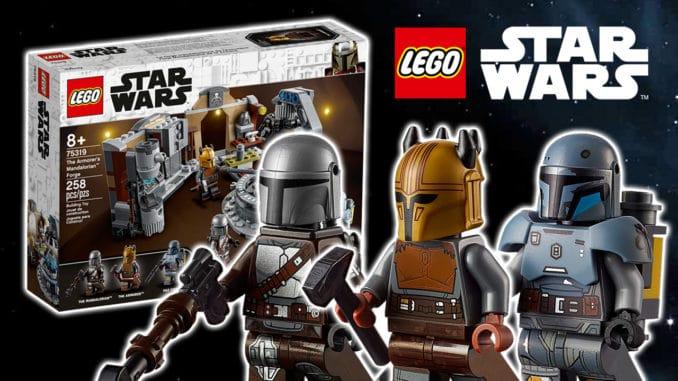 LEGO Star Wars 75319 Mandalorianische Schmiede